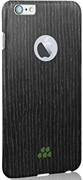Чехол Evutec iPhone 6/6S Wood S (0,9 mm) Black Apricot (AP-006-CS-W35) - ITMag