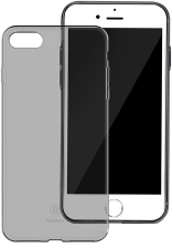 Чехол Baseus Simple Series Case (Clear) For iPhone7 Transparent Black (ARAPIPH7-B01)