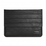 Чехол OATSBASF Genuine Leather для Macbook Air/Pro 13.3 (Black/Черный)