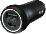 RAVPower PD 18W 36W Total Output Car Charger Black (RP-PC091)