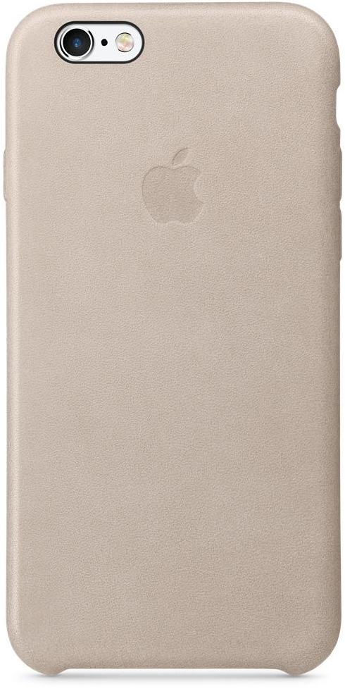 Apple iPhone 6s Plus Leather Case - Rose Gray MKXE2