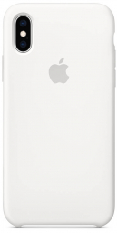 Apple iPhone XS Silicone Case - White (MRW82)