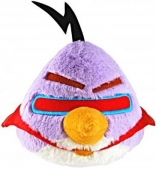 "Angry Birds 5"" Space Purple Bird Plush with sound"