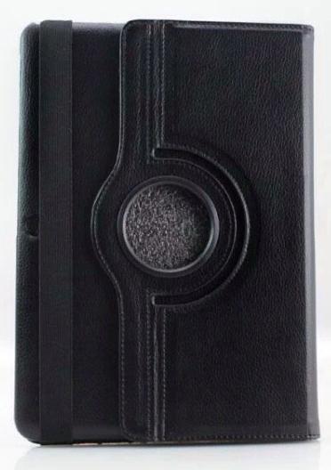 Чехол EGGO для Samsung Galaxy Tab Pro 10.1 T520/T521 (кожа, поворотный, черный)