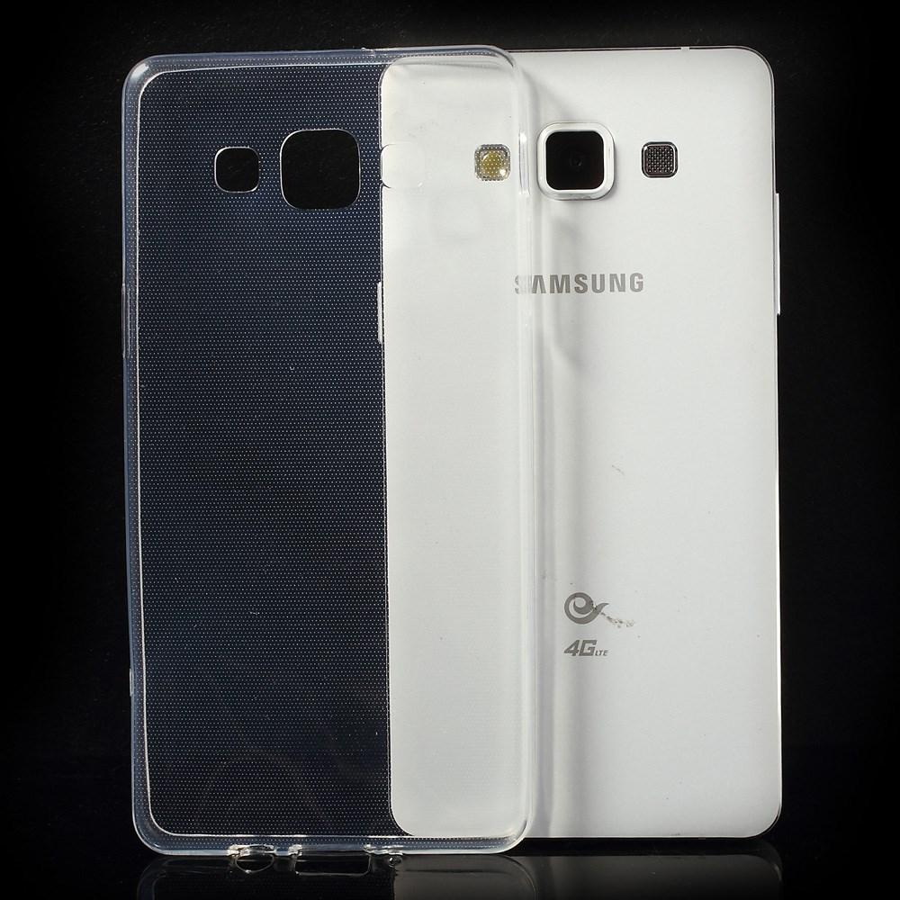 TPU чехол EGGO для Samsung A500H Galaxy A5 (Бесцветный (прозрачный))