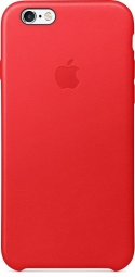 Apple iPhone 6s Leather Case - PRODUCT(RED) MKXX2