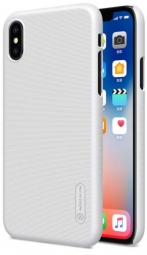 "Чехол Nillkin Matte для Apple iPhone X (5.8"") (+ пленка) (Белый)"