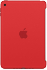 Apple iPad mini 4 Silicone Case - (PRODUCT) RED MKLN2