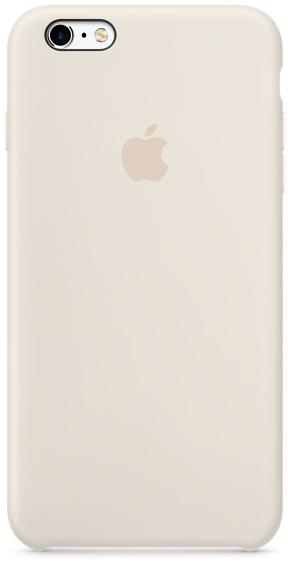 Apple iPhone 6s Plus Silicone Case - Antique White MLD22