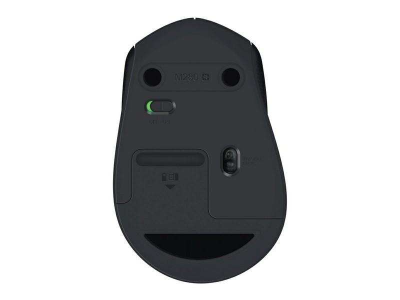 7e3e88f4821 Logitech Wireless Mouse M280 Black (910-004291): характеристики ...
