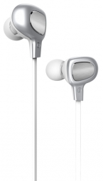 Bluetooth гарнитура Baseus B15 Seal Bluetooth Earphone Silver/White (NGB15-02)