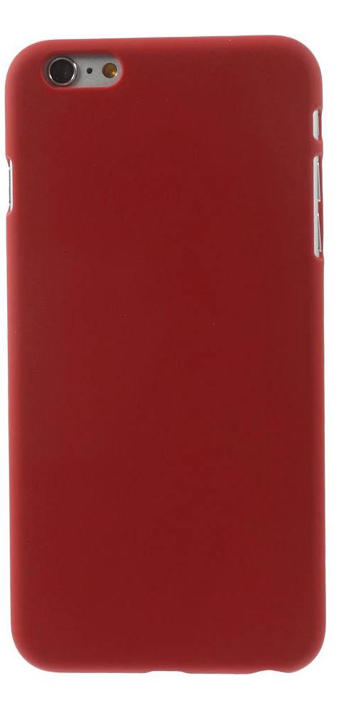 Прорезиненный чехол EGGO для iPhone 6 Plus/6S Plus - Red