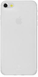 Чехол Baseus Slim Case For iphone7 Transparent White (WIAPIPH7-CT02)