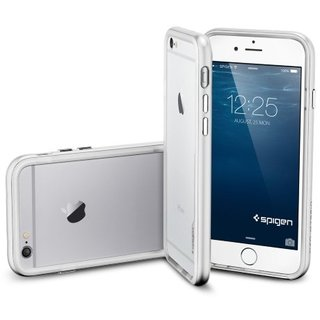 "Бампер SGP Case Neo Hybrid EX Series Satin Silver for iPhone 6/6S 4.7"" (SGP11026) - ITMag"