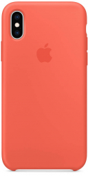 Apple iPhone XS Silicone Case - Nectarine (MTFA2)