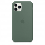 Apple iPhone 11 Pro Max Silicone Case - Pine Green (MX012) Copy