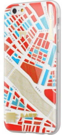 Чехол-бампер LAUT for iPhone 6/6S (+ пленка) (Лондон) (LAUT_IP6_ND_L)
