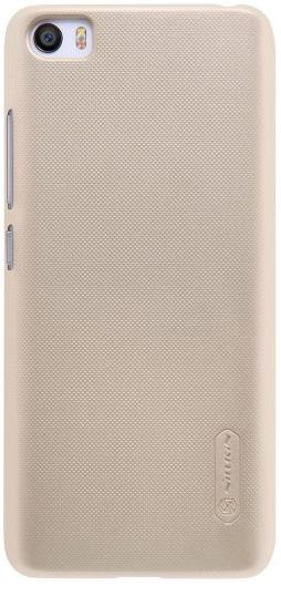 Купить Чехол Nillkin Matte для Xiaomi Mi5s (+ пленка) (Золотой)