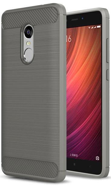 TPU чехол iPaky Slim Series для Xiaomi Redmi Note 4X (Серый)  - купить со скидкой