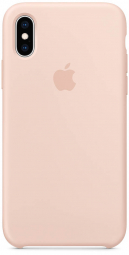 Apple iPhone XS Silicone Case - Pink Sand (MTF82)