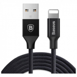Кабель Baseus Yiven Cable USB Lightning For IP 1.2M Black (CALYW-01)