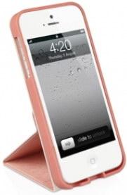 Чехол Macally SSTANDRS-P5 для iPhone 5/5S/SE (Розовый)