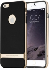 "TPU+PC чехол Rock Royce Series для Apple iPhone 7 plus (5.5"") (Черный / Champagne gold)"