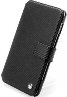 Чехол Zenus Carbon Diary для Samsung N7000 Galaxy Note (Черный) - ITMag