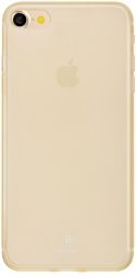 Чехол Baseus Slim Case For iphone7 Transparent Gold (WIAPIPH7-CT0V)