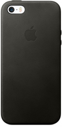 Apple iPhone SE Leather Case - Black (MMHH2)