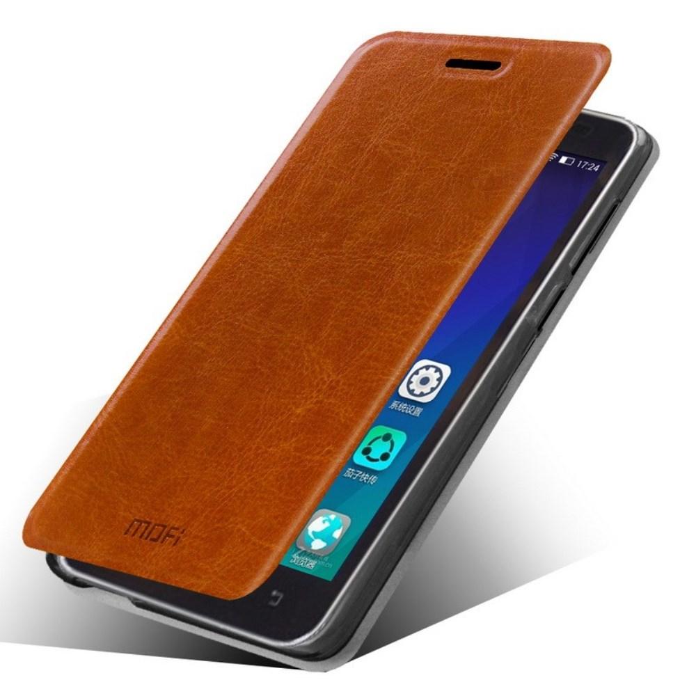 Чехол MOFI Rui Series Folio Leather Stand Case для Lenovo A606 (Коричневый/Brown)