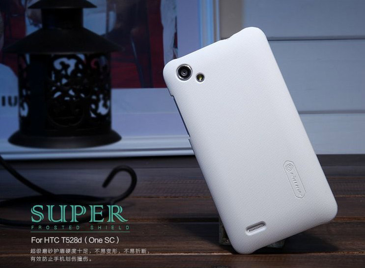 Чехол Nillkin Matte для HTC One SC t528d (+пленка) (Белый)