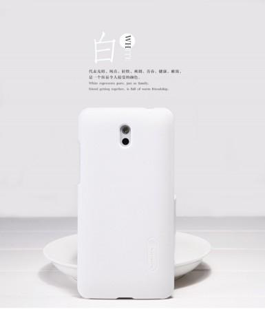 Чехол Nillkin Matte для HTC Desire 609d (+ пленка) (Белый)