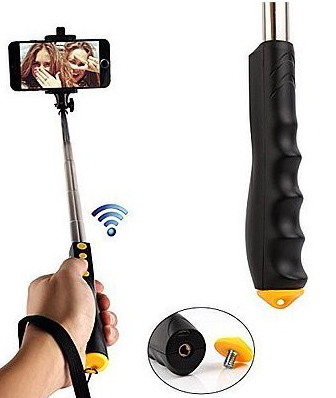 Монопод Remax Selfie stick P2 Bluetooth Black - ITMag