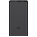 Xiaomi Mi Power Bank 3 10000mAh Black (PLM12ZM, VXN4253CN)