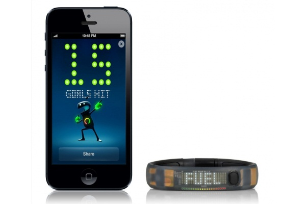 Watches amp Pedometers  Nike Fuel Band Black Ice