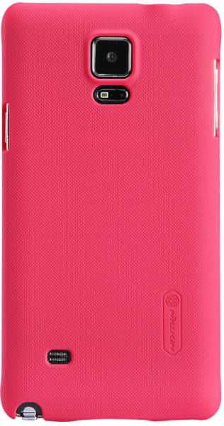 Чехол Nillkin Matte для Samsung N910S Galaxy Note 4 (+ пленка) (Розовый)