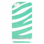Чехол ARU для iPhone 5S Zebra Stripe Green
