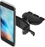 IOttie Easy One Touch Mini CD Slot Universal Car Mount Holder Cradle Black (HLCRIO123)