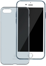 Чехол Baseus Simple Series Case (Clear) For iPhone7 Transparent Blue (ARAPIPH7-B03)