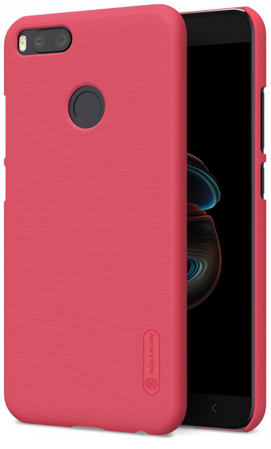 Чехол Nillkin Matte для Xiaomi Mi 5X / Mi A1 (+ пленка) (Красный)