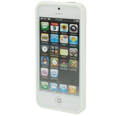 Бампер для iPhone 5/5S (Белый)  - купить со скидкой
