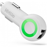 iOttie Rapid Volt Dual Port USB Car Charger White (CHCRIO101WH)