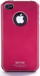 SGP iPhone 4 Case Ultra Thin Vivid Series (Dante Red)