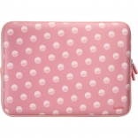 Папка LAUT Pop для MacBook 13 Polka Pink (LAUT_MB13_POP_PK)