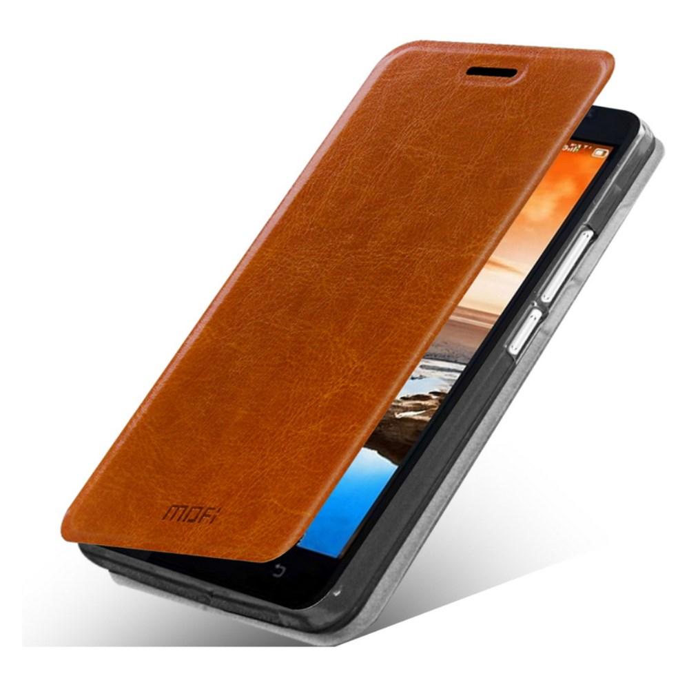 Чехол MOFI Rui Series Folio Leather Stand Case для Lenovo A916 (Коричневый/Brown)
