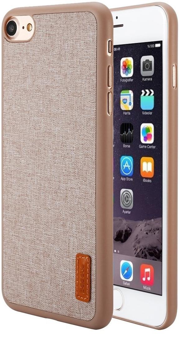 Чехол Baseus Grain Case For iPhone 7 Khaki (WIAPIPH7-BW11)