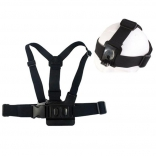 Крепление EGGO на грудь для GoPro Hero 1/2/3/3+/4 Chest Mount Harness + Head Strap