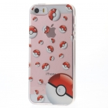 TPU чехол EGGO Pokemon Go для iPhone 5/5S/SE (Poke Balls)