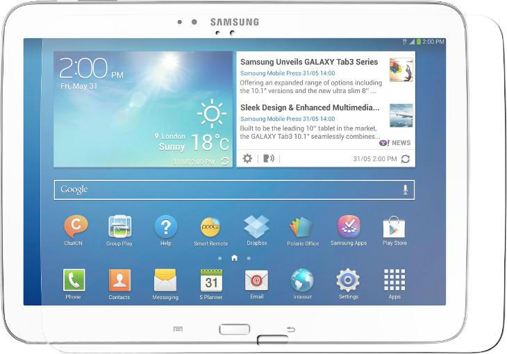 Защитное стекло EGGO Samsung Galaxy Tab 3 10.1 P5200/P5210 (глянцевое)